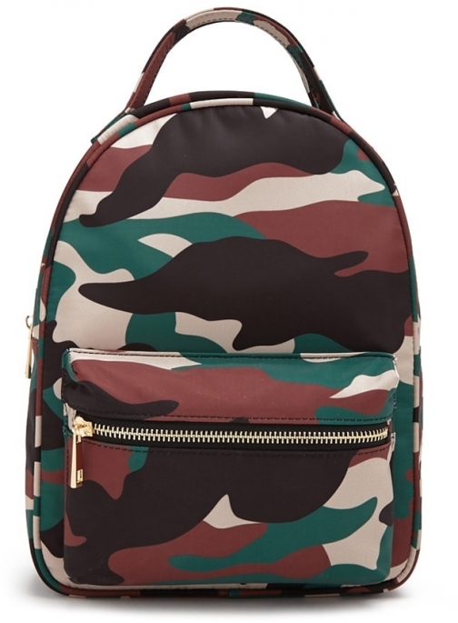 Forever21 Forever 21 Camo Print , Black/multi Backpack