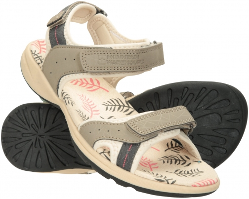 Mountain Warehouse Athens Printed Womens Sandal - Beige Sandals
