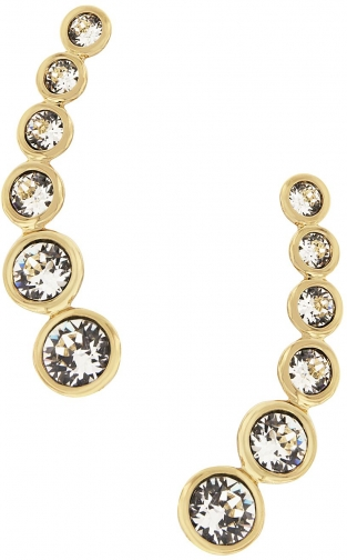 Aurora Gold Plated Crystal Earring
