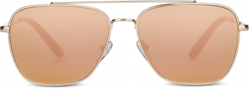 Toms Irwin 201 Rose Gold With Rose Mirror Lens Sunglasses
