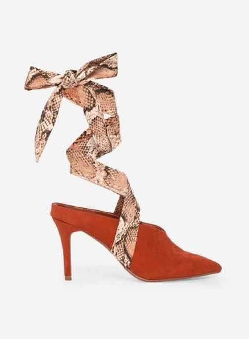 Dorothy Perkins Rust 'Estelle' Shoes Court