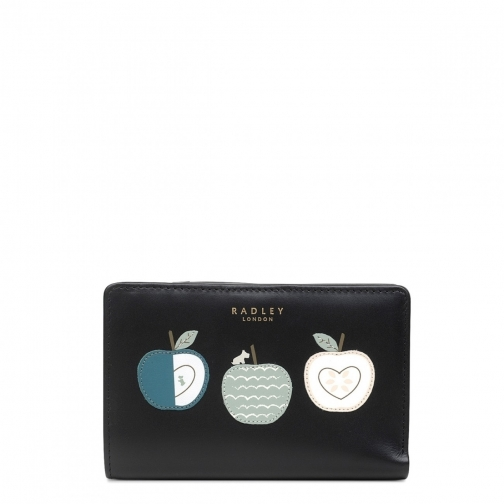 Radley An Apple A Day Medium Bifold Zip Purse