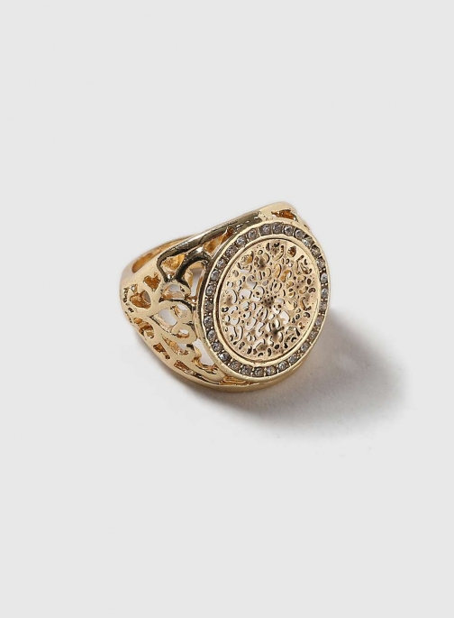 Dorothy Perkins Womens Gold Sovereign - Gold Ring