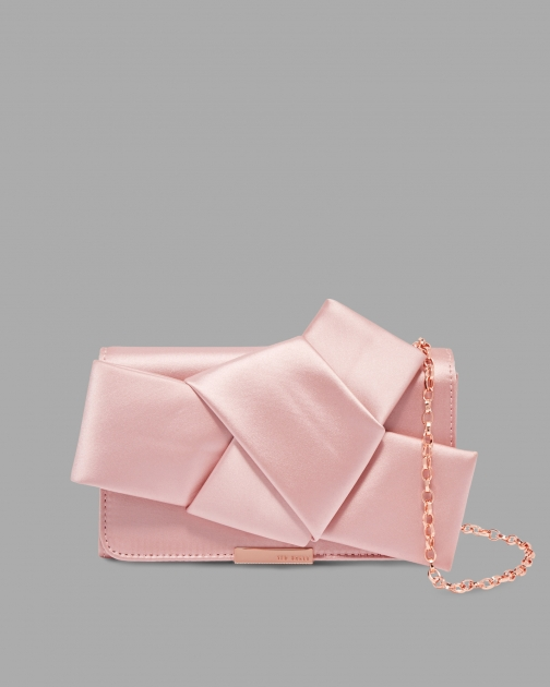 Ted Baker Knot Bow Satin Evening Bag