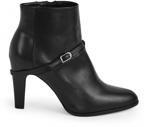 Reiss Ophelia - Buckle Detail Black, Womens, Size 4 Ankle Boot
