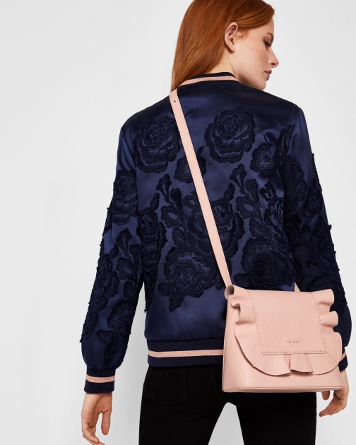 Ted Baker Leather Ruffle Multiway Backpack