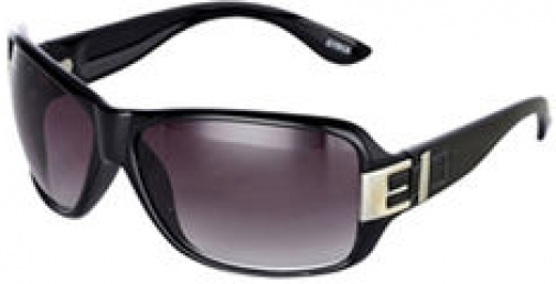 Karen Millen Black Buckle Detail Sunglasses