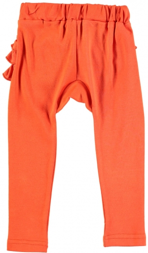 House Of Fraser Rockin' Baby Girls Orange Frill Bottom Legging