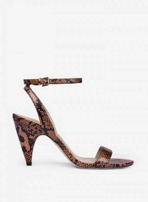 Dorothy Perkins Multi Coloured 'Boop' Snake Print Sandals