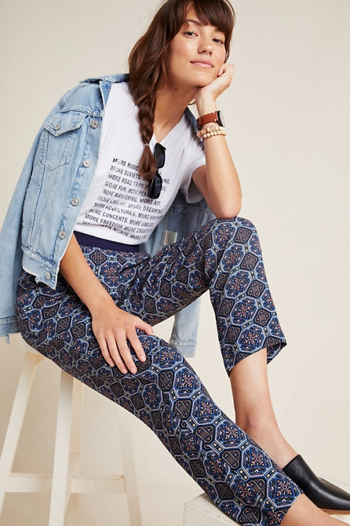 Bl-nk Londoner Abstract Trousers Trouser