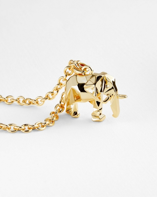 Ted Baker Elephant Pendant Necklace