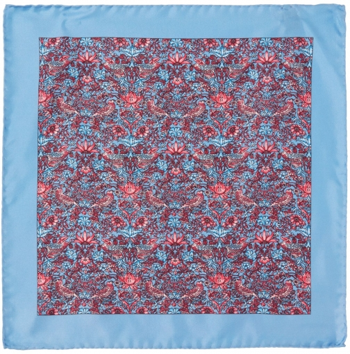 House Of Fraser Turner & Sanderson Sunningdale Floral Silk Pocket Square