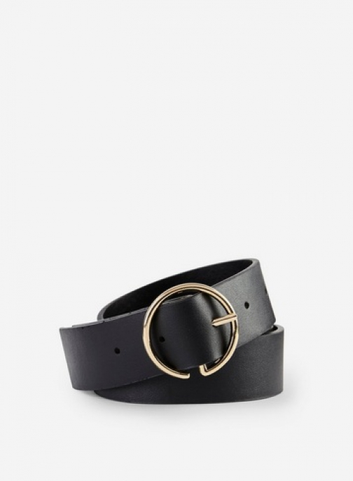 Dorothy Perkins Black Half Circle Belt
