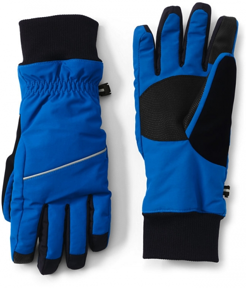 Lands' End Women's Squall - Lands' End - Blue - S Glove