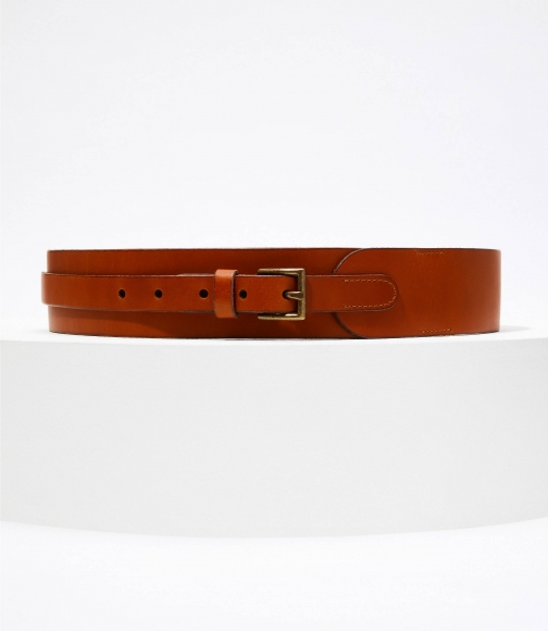 Loft Wide Leather Belt