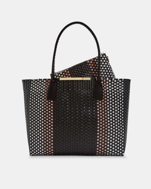 Ted Baker Large Woven Bag Tote