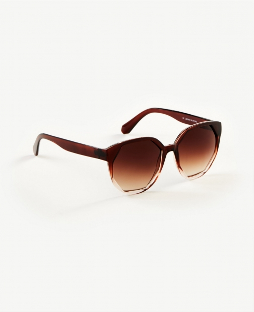 Ann Taylor Ombre Octagon Sunglasses