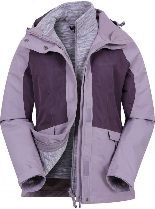 Mountain Warehouse Thunderstorm 3--1 Womens - Purple Jacket