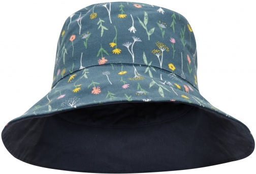 Mountain Warehouse Reversible Womens Printed Bucket - Navy Hat