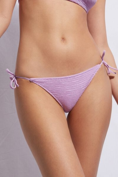 Calzedonia String Bottom Miami Woman Violet Size 1 Swimsuit