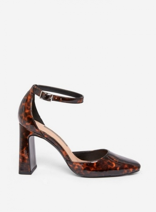 Dorothy Perkins Multi Colour Tortoise Shell 'Dandie' Shoes Court