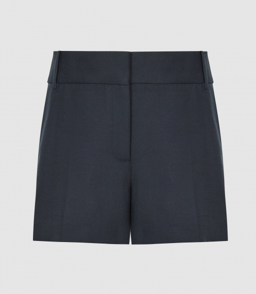 Reiss Lyla - Tailored Navy, Womens, Size 4 Short
