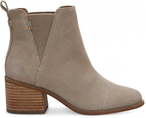 Toms Desert Taupe Suede Women's Esme Boot