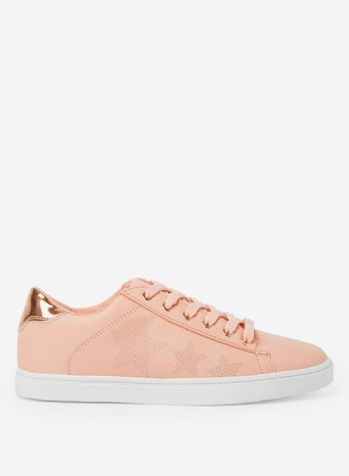 Dorothy Perkins Womens Blush 'Iona' - Pink, Pink Trainer