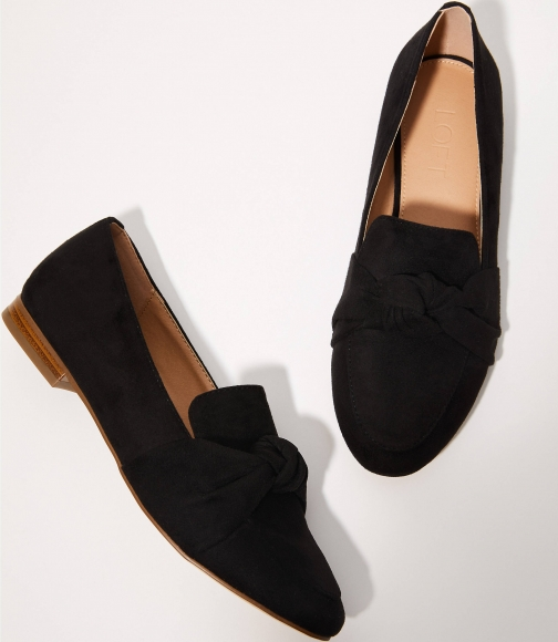 Loft Bow Loafers Shoes