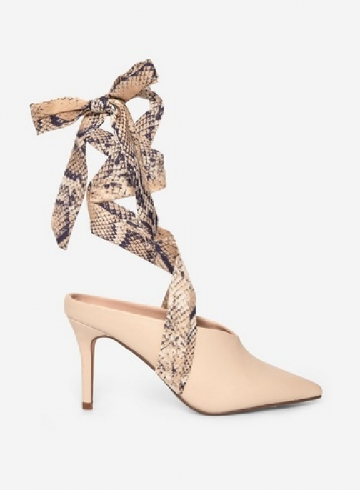 Dorothy Perkins Ecru 'Estelle' Shoes Court