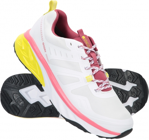 Mountain Warehouse Accelerate Womens Waterproof Running - White Shoes
