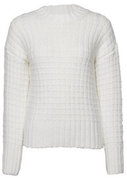 Dorothy Perkins Cream Chunky With Recycled Yarns Jumper
