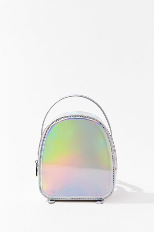 Forever21 Forever 21 Iridescent Mini , Holographic Backpack