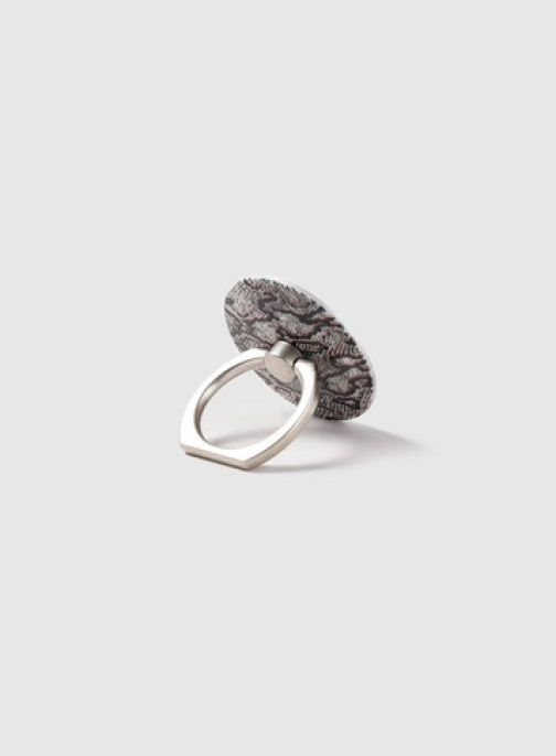 Dorothy Perkins Grey Snake Print Phone Ring
