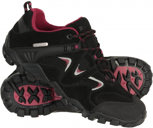 Mountain Warehouse Curlews Womens Waterproof - Black Shoes