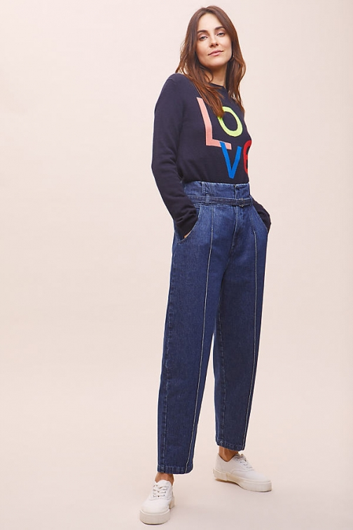 Tela Azize Tapered- Cropped Jeans