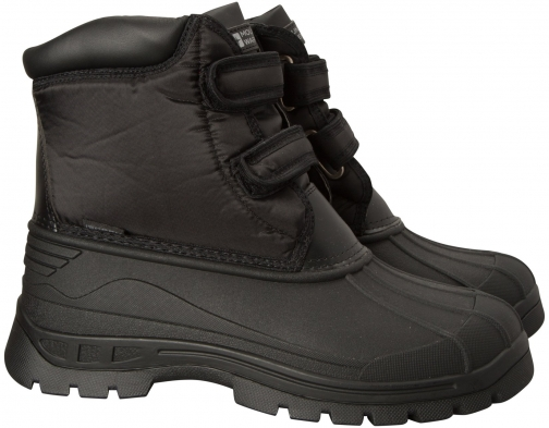 Mountain Warehouse Grit Womens Short Muck - Black Boot