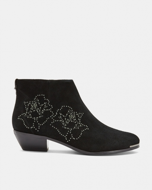 Ted Baker Studded Suede Ankle Boot