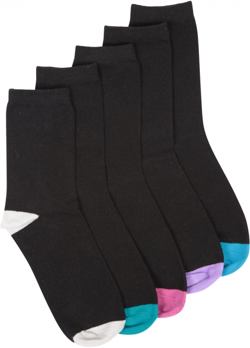 Mountain Warehouse Womens Everyday Multipack - Black Sock