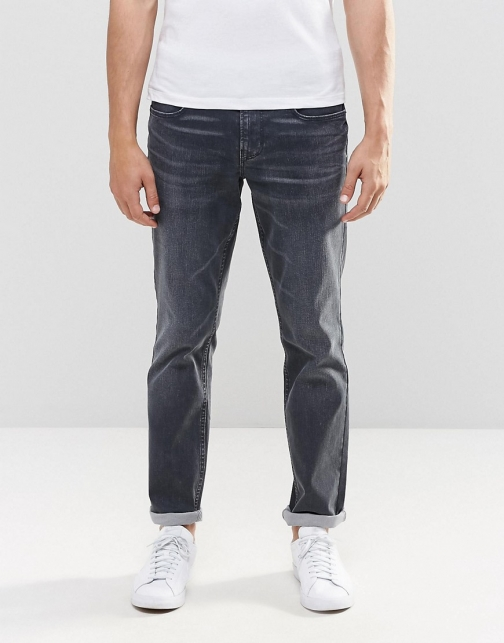 Boss Orange By Hugo Boss Greywash Slim Jeans