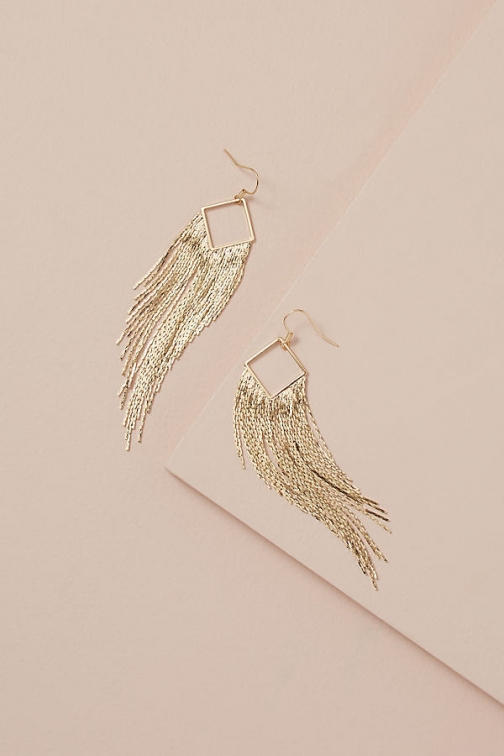 Anthropologie Misa Chainmail Earring