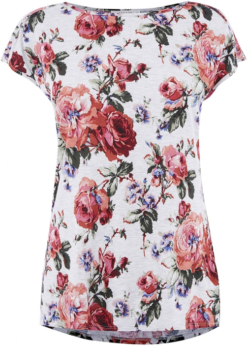 Oasis CORAL ROSE MARL TEE T-Shirt