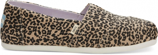Toms Baby Cheetah Women's Classics Slip-On Shoes