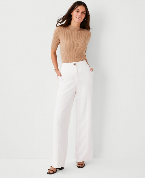 Ann Taylor The Full Length Seamed Pant - Curvy Fit Trouser