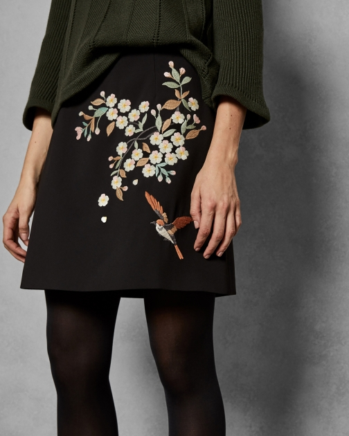 Ted Baker Graceful Mini Skirt
