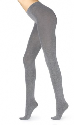 Calzedonia Super Opaque With Cashmere Woman Grey Size 3 Tight
