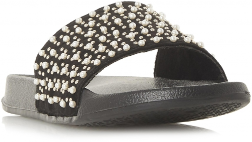 Head Over Heels Luminate Pearl-Embellished Slider