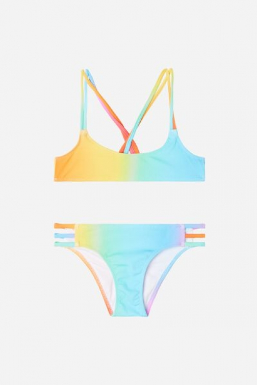 Calzedonia Two Piece Girls' Barcellona Girl Multicolor Size 10 Swimsuit