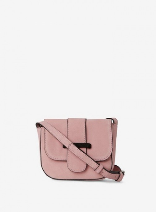 Pieces Pink 'Bivonne' Cross Body Bag Crossbody Bag