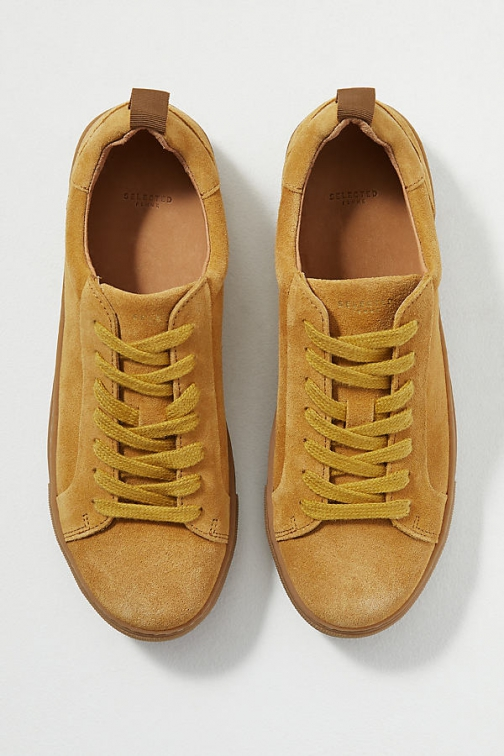 Selected Femme Donna Suede Trainer